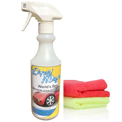 Liquid Magics Waterless Car Wash 500ml